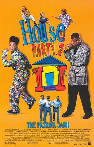 House Party 2 - Theatrical release poster