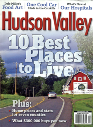 Hudson Valley (magazine) - April 2010 issue of Hudson Valley
