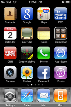 IPhone OS 3 - Image: I Phone OS 3.1.3