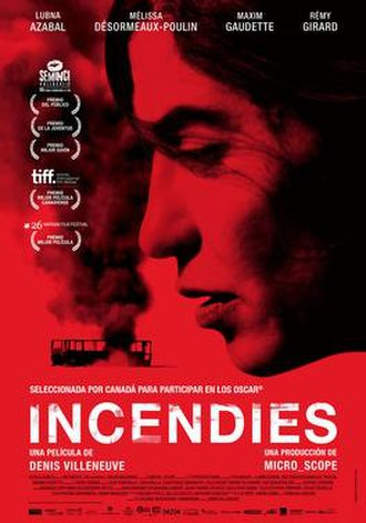 Incendies - Theatrical poster