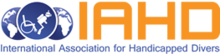 International Association for Handicapped Divers (IAHD) Logo.png