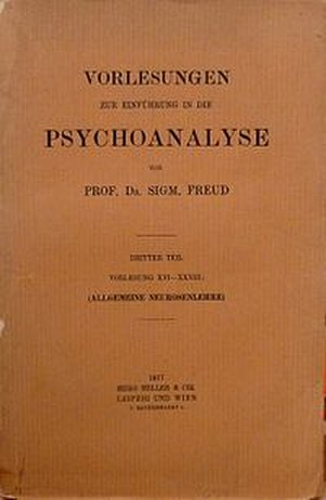 Introduction to Psychoanalysis - Image: Introductory Lectures on Psychoanalysis, German edition