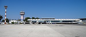Corfu International Airport - Image: Ioannis Kapodistrias Airport in Corfu