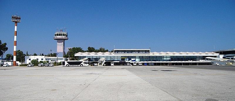 Aeropuerto de la isla de Corfú