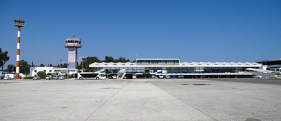 Ioannis Kapodistrias Airport in Corfu