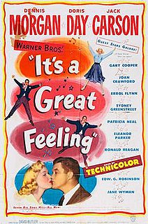 <i>Its a Great Feeling</i> 1949 film by David Butler