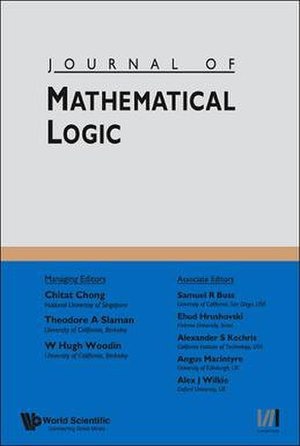 Journal of Mathematical Logic - Image: Journal of Mathematical Logic (cover)