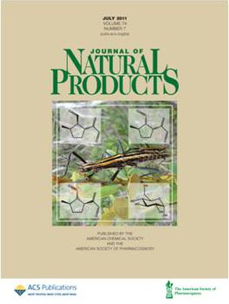 Journal of Natural Products - Image: Journal of natural products cover