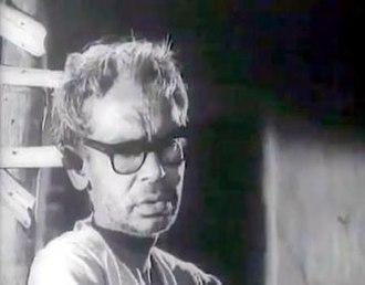 Ritwik Ghatak - A scene from Ghatak's last film Jukti Takko Aar Gappo (1974)