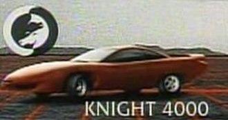 Knight Rider 2000 - Image: Knight 4000