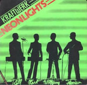 Neon Lights (Kraftwerk song) - Image: Kraftwerk Neon Lights single cover