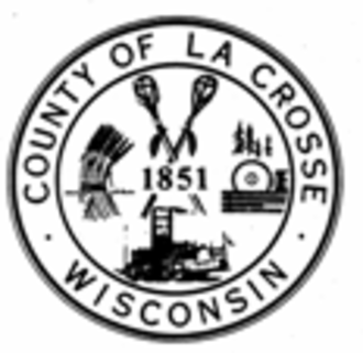 La Crosse County, Wisconsin - Image: La Crosse County, Wisconsin seal