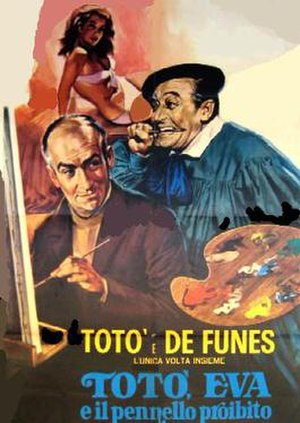 Toto in Madrid - Image: La culpa fue de Eva (1959) 13