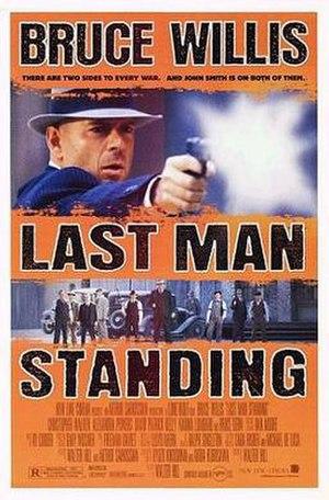 Last Man Standing (1996 film) - Image: Last man standing ver 2