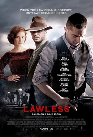 Lawless (film) - Theatrical release poster
