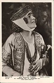 Winifred Lawson as Princess Ida, 1922