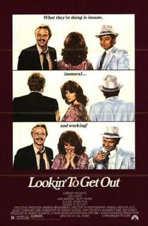 Lookin' to Get Out - Promotional movie poster for the film