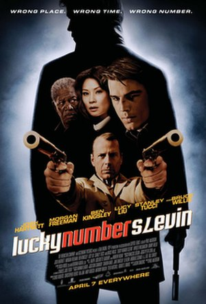 Lucky Number Slevin - Promotional poster