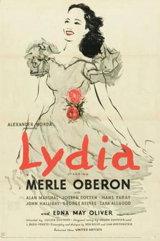 Lydia (film) - theatrical poster