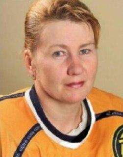 Lyudmila Yurlova Russian ice hockey player