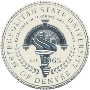 Metropolitan State University of Denver - Image: MSU Denver seal