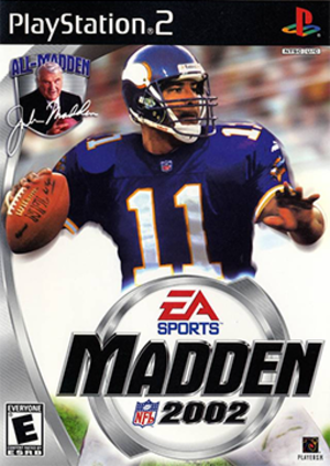 Madden NFL 2002 - Image: Madden NFL 2002 Coverart