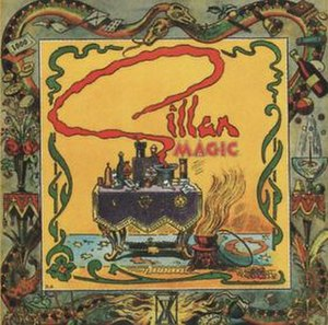 Magic (Gillan album) - Image: Magic Gillan