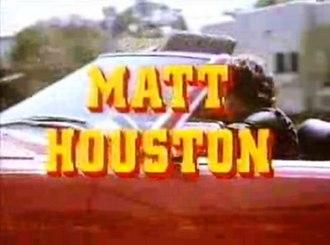 Matt Houston - Image: Matt Houston Intro Screenshot