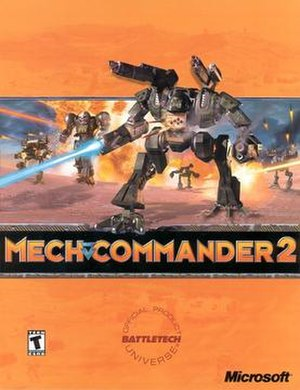 MechCommander 2 - Image: Mechcommander 2 box art