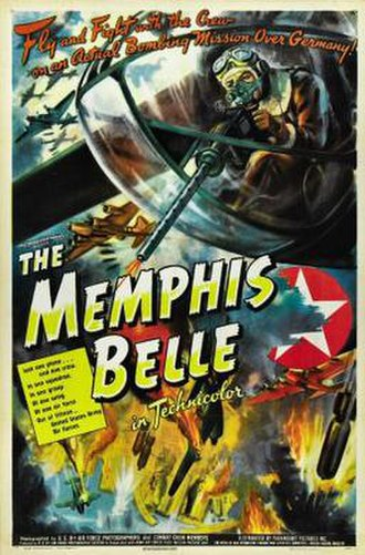 Memphis Belle: A Story of a Flying Fortress - Theatrical poster