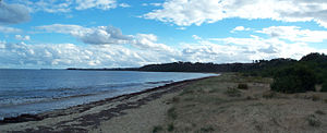 Merricks Beach, Victoria - Merricks Beach in April