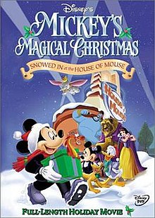 mickeys magical christmasjpg dvd cover - A Walt Disney Christmas Dvd