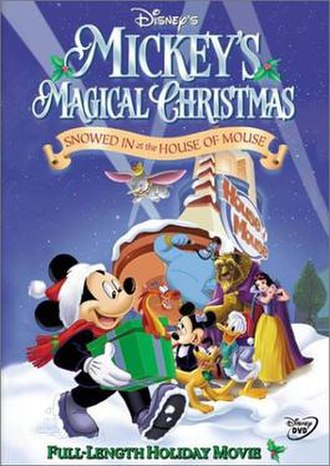 Mickey's Magical Christmas: Snowed in at the House of Mouse - DVD cover