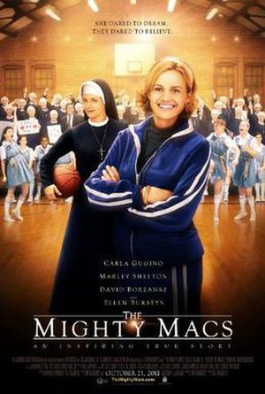The Mighty Macs - Theatrical release poster