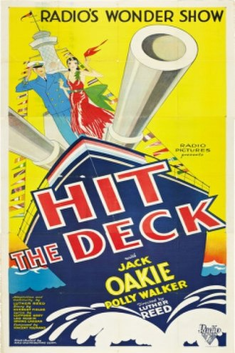 Hit the Deck (1930 film) - Film poster