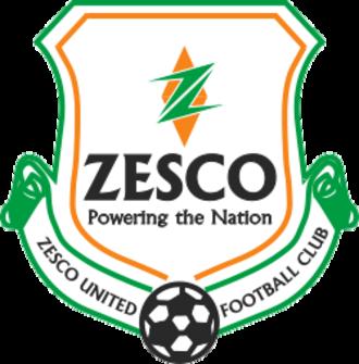 ZESCO United F.C. - Image: New Zesco Utd F Clogo