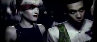New (No Doubt song) - Kanal's character (right) helps that of Stefani (left) get into a rave.
