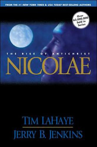 Nicolae (novel) - The Paperback Cover