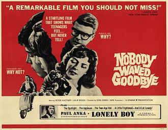 Nobody Waved Good-bye - Image: Nobody waved goodbye movie poster 1020236738
