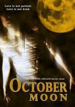 October Moon - 2005 poster