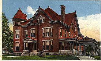 Sherman Fairchild - Fairchild's childhood home, now the Oneonta Masonic lodge