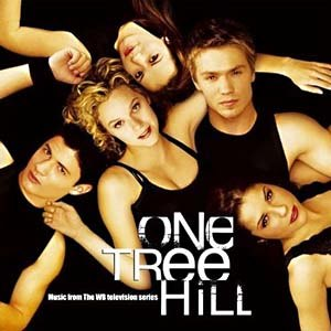 One Tree Hill (TV series) - Original main five: Lucas and Peyton (center), Nathan and Haley (left), and Brooke (right).