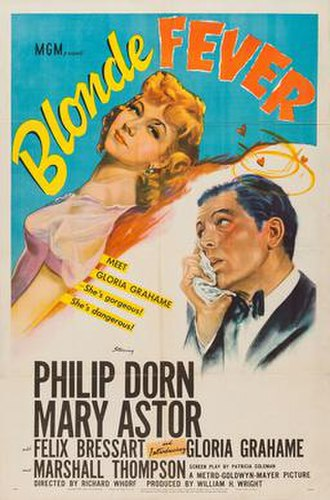 Blonde Fever - Theatrical release poster