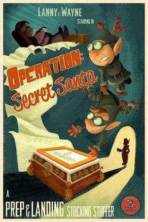 Prep & Landing: Operation: Secret Santa - Image: Prep & Landing Operation Secret Santa poster
