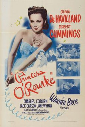 Princess O'Rourke - Theatrical release poster