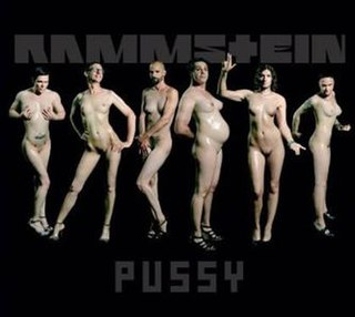 Pussy (Rammstein song) Rammstein song