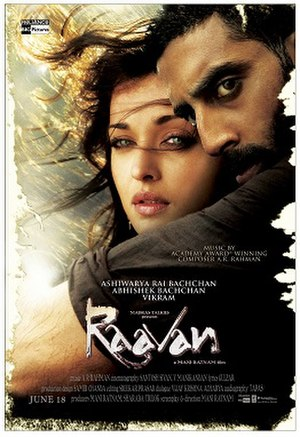 Raavan - Theatrical release poster