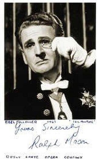 Ralph Mason - Ralph Mason as Tolloller in Iolanthe (1967)