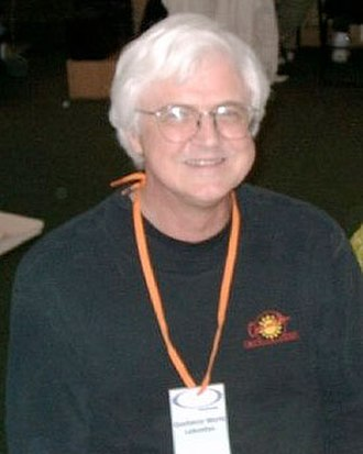 Rick Geary - Geary, photographed at the 2004 Alternative Press Expo (APE) in San Francisco.