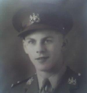 Ric Nordman - Captain Ric Nordman, 1945.